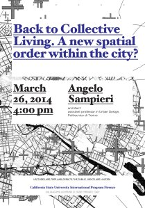 20140326 Angelo Sampieri - lecture poster