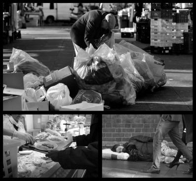 ROMA 03-01-2007 CARITAS DIOCESANA DI ROMA MENSA DEL COLLE OPPIO DISTRIBUZIONE DEI PASTI AGLI OSPITI POVERI ED IMMIGRATI