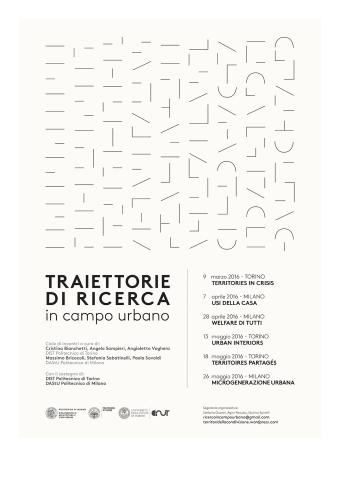 Traiettorie di Ricerca in Campo Urbano - programma incontri-1