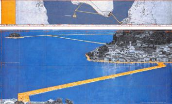 Christo and Jeanne-Claude, The Floating Piers